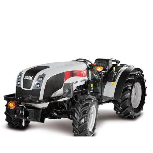 низкоуровневый трактор / синхронизированный механизм / широкий / с ROPS