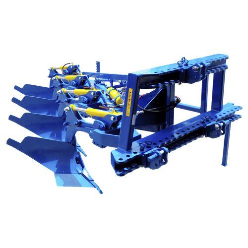 плуг с отвалом / для трактора / с гидравлическим регулятором / с колесом управления