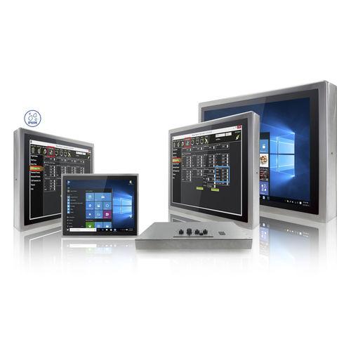сенсорный монитор / LCD / герметичный / для ветеринарной эхографии