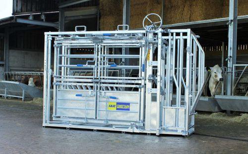 станок для фиксации КРС для крупного рогатого скота