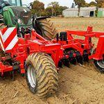 культиватор для трактора / с дисковым культиватором / вспахивание земли / фиксируемый