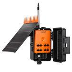 программатор полива для контрольного клапана / для центральной дождевальной машины / беспроводной / на солнечной энергии