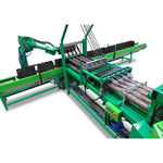 автоматическая машина для наполнения цветочных горшков / для биоразлагаемого горшка