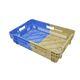 ящик для овощей / из пластика / двухцветный / гнездовой
