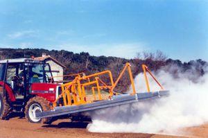 паровая машина для удаления сорняков / для установки на трактор