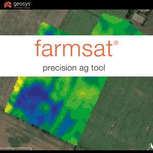 программное обеспечение для точного земледелия / для управления / для анализа / для картографии
