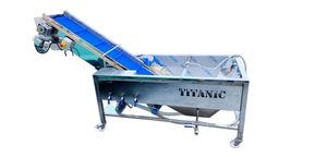 машина для мытья фруктов за счет плавучести