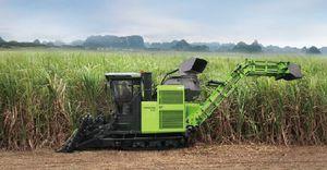 уборочная машина для сахарного тростника