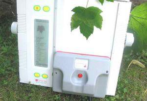 прибор для расчета площади для листьев