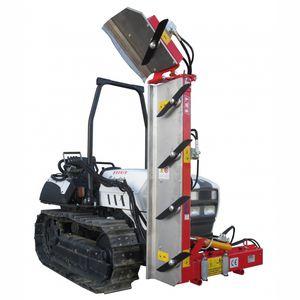 машина для срезания веток для виноградников / для установки на трактор / гидравлическая / с поворотным ножом