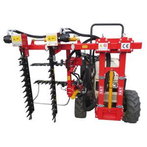 машина для предварительной обрезки лозы для трактора