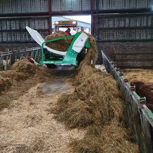 машина для размотки тюков для трактора