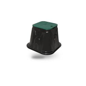 коробка для клапана для полива из пластика