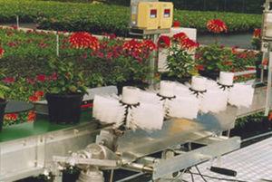 моечная станция для цветочных горшков