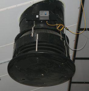 световая ловушка для сельскохозяйственных зданий