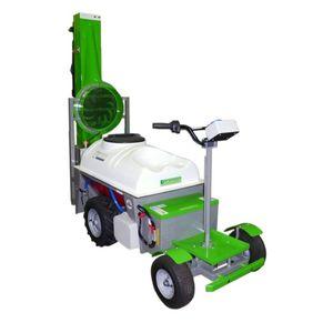 самоходный распылитель / с колесами / для растениеводства / со складывающейся ручкой