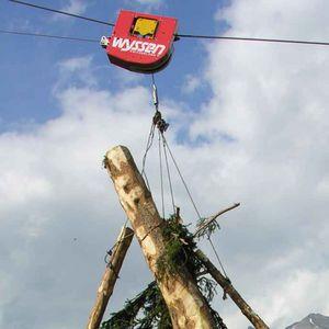 тележка для тали для лесохозяйственных работ