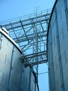 лестницы для зернохранилища