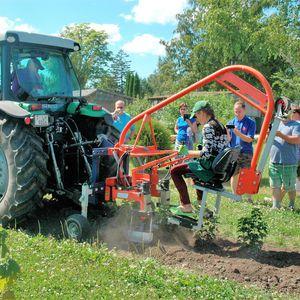 механическая машина для удаления сорняков / для трактора