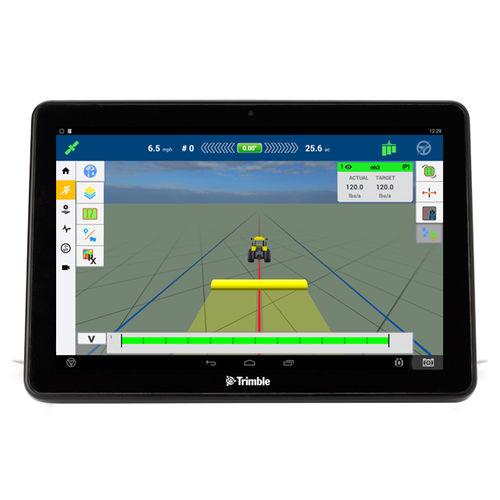 GPS / с экраном / встроенный / для трактора