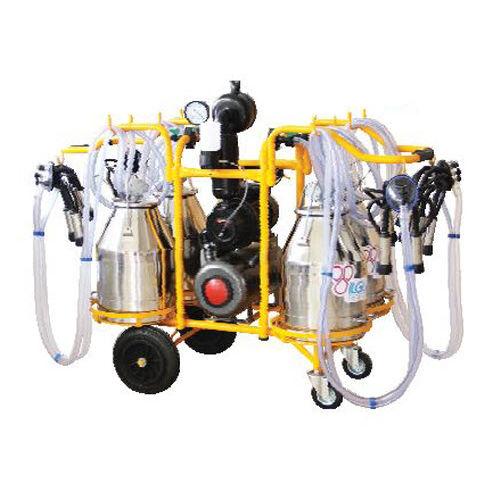 доильная установка для коров / мобильная / с электродвигателем