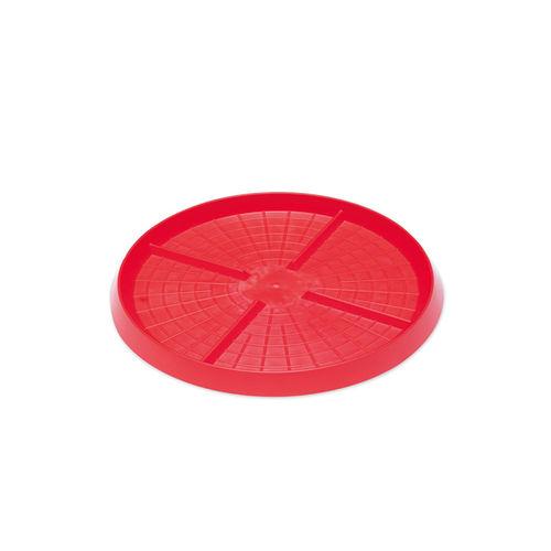 тарелка для цыплят / из пластика / мультидоступ / для напольного крепления