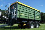 прицеп с кузовом / тандемный / сельскохозяйственный / 2 тонны