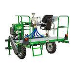 разбрасыватель удобрений для трактора / сухой / для земельных участков