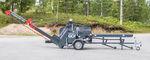 комбинированная пила/дровокол с бензопилой / с ленточным конвейером