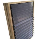 воздухозаборник для хлева / для сельскохозяйственных зданий / настенный / для вентиляции