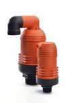 клапан для орошения / для контроля / с пневматической продувкой / из пластика