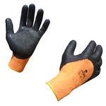 рабочая перчатки / порезостойкая / с защитой от холода / нитриловая