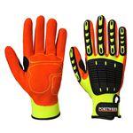 рабочая перчатки / нитриловая / воздухопроницаемая