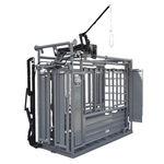 станок для фиксации КРС для крупного рогатого скота / гидравлический
