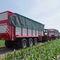 прицеп с кузовом / трехосный / для силоса / 29 тонн