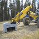 дробилка с горизонтальной осью для трактора / с ножами / гидравлическая / для лесохозяйственных работ