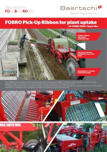 FOBRO Pick-Up Ribbon for plant uptake