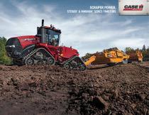 Steiger & Magnum Tractors: Scraper Power Brochure