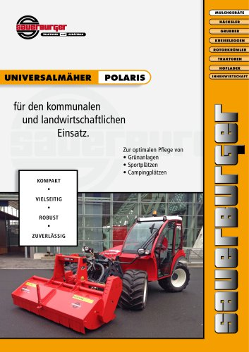 POLARIS for slope tractor