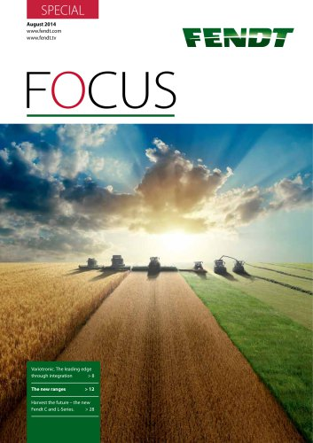 Fendt Focus Special August 2014