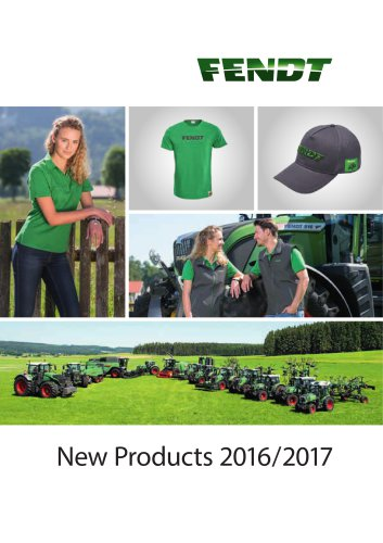Fendt Shop New Products 2016/2017