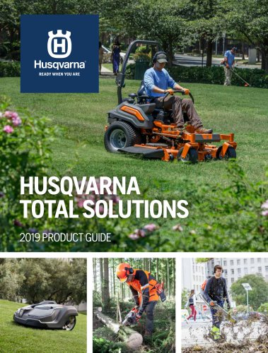 HUSQVARNA TOTAL SOLUTIONS