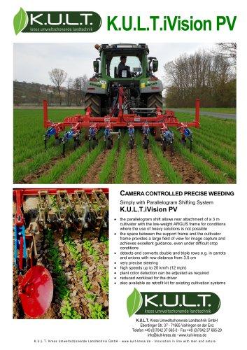 K.U.L.T.iVision PV - camera steered weeding