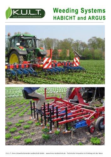Weeding systems HABICHT and ARGUS