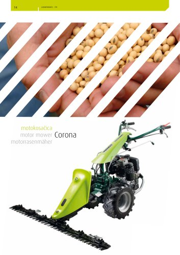 motor mower Corona