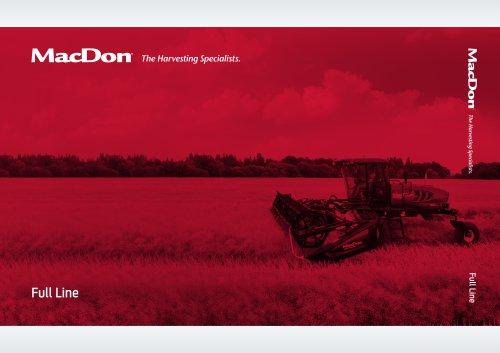 MacDon Full Line Brochure