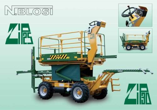 Zip 25 Moving machines
