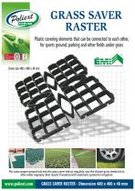 Grass Saver Raster