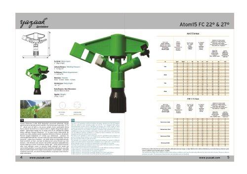 ATOM 15 FC 2 NOZZLE Product Catalog
