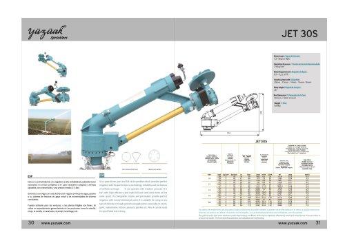 JET 30S Product Catalog